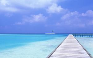 blue-sky-blue-water